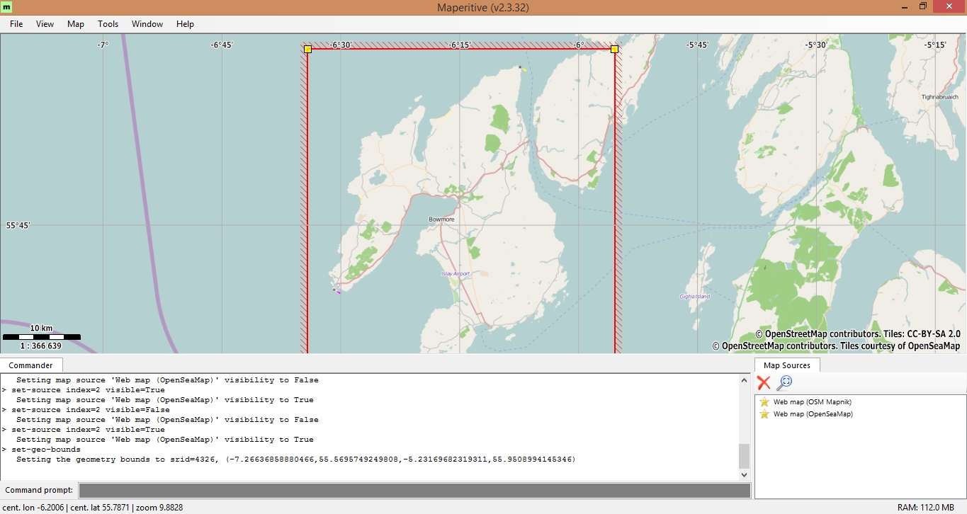 Creating osm offline tiles using maperitive osedok download osm data for selected area sciox Gallery